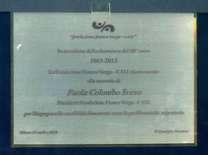 Targa-Fondazione-Verga - C.O.I.